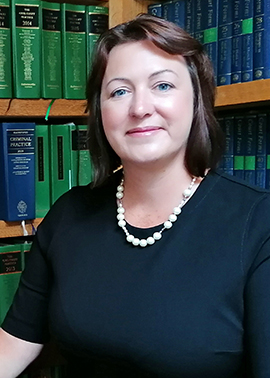 Samantha Boyns, Solicitor, Walters & Barbary Solicitors, Camborne, Cornwall